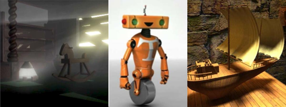 Välkommen till 3D-animationsprogrammet!