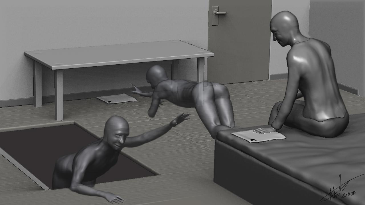 Nicklas Molinder, 3D-illustration